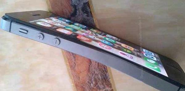 iPhone 5S curvato