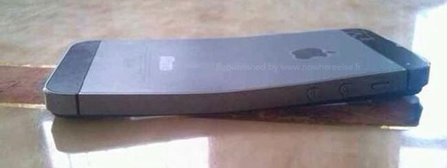 iPhone 5S piegato