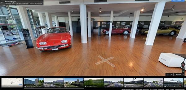 Il Museo Lamborghini arriva su Google Street View