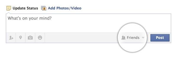 L'opzione di default per i post dei minori su Facebook sarà sempre la più ristretta: amici.