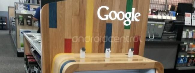 Gli stand di Google avvistati negli store Best Buy
