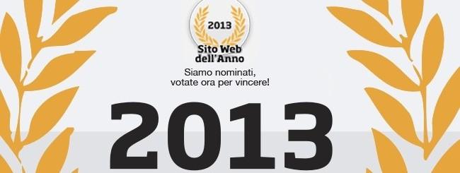 Webnews.it sito dell'anno 2013