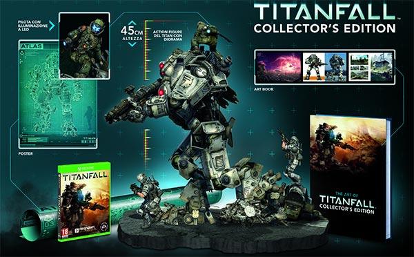 Tutti i contenuti della Collector's Edition di Titanfall