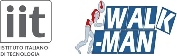 Il logo dell'Istituto Italiano di Tecnologia, insieme a quello del progetto WALK-MAN