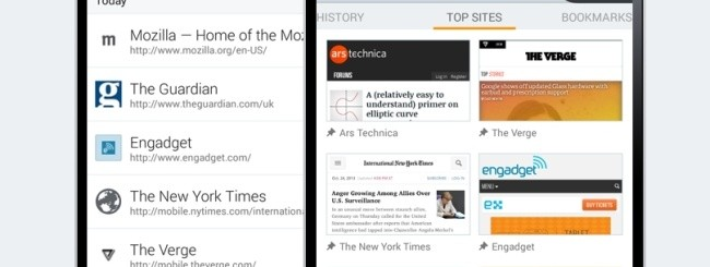 Firefox 26 Beta per Android