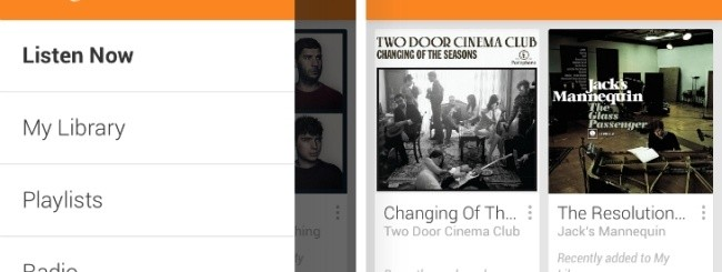 Google Play Music per iOS