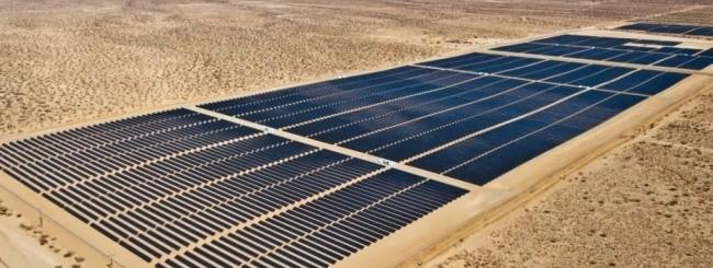 Impianto solare in California