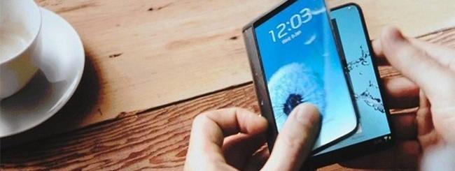 Samsung dispositivo pieghevole