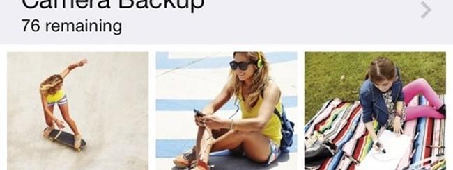 SkyDrive - backup foto con iOS