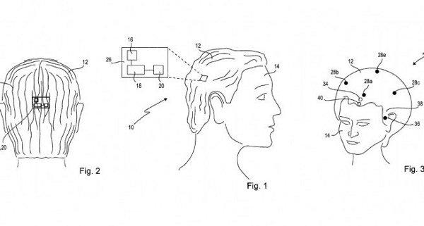 Sony SmartWig, brevetto