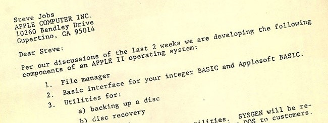 Apple II Dos