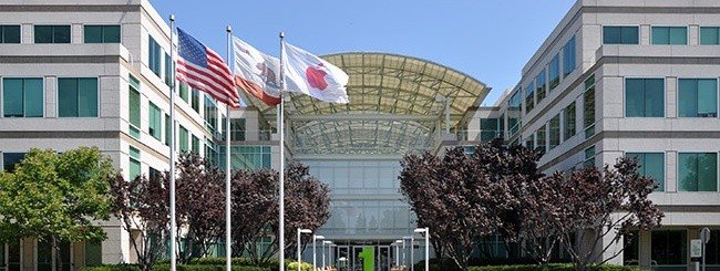 Apple, sede di Cupertino