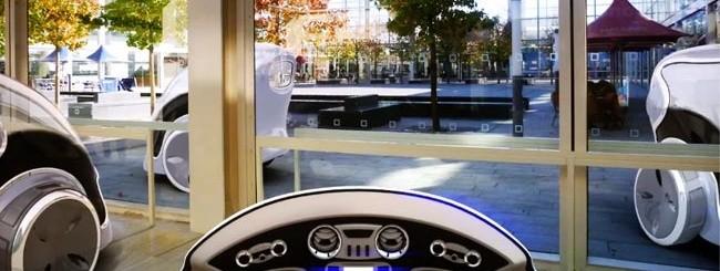 La driverless car di Milton Keynes