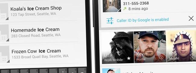 Android 4.4 KitKat, app Telefono