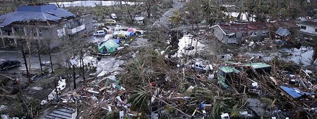 Tifone nelle filippine