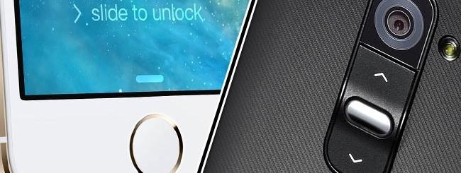 iPhone 5S e LG G2