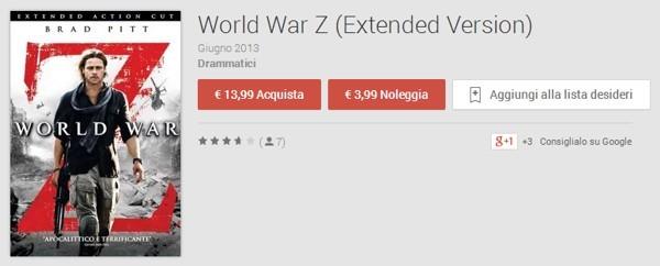 World War Z su Google Play