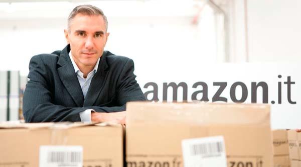 Stefano Perego, AD di Amazon Logistica Italia, la srl che si occupa del marketplace della società di Seattle in Italia.