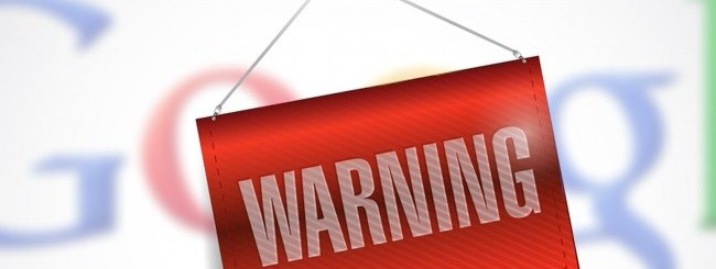 Warning - Filtro su Google