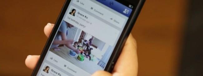 Facebook per iOS