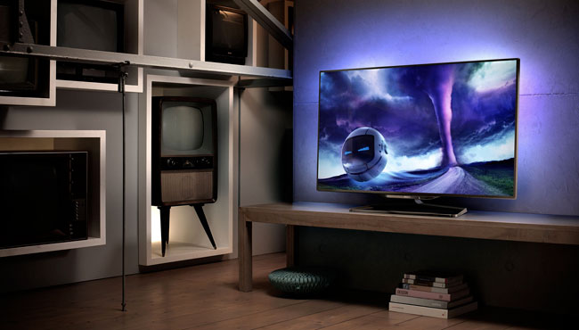 philips 55pfl8008s tv led 3d con ambilight webnews. Black Bedroom Furniture Sets. Home Design Ideas
