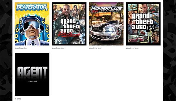 Agent compare sul sito Social Club di Rockstar Games