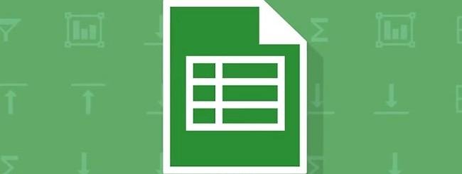 Google Drive, fogli di lavoro