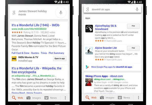 Le novità introdotte dall'aggiornamento all'applicazione Google Search