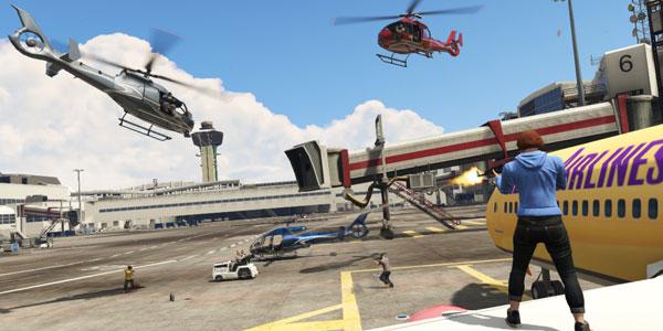 Screenshot per la modalità Capture, in arrivo in GTA Online