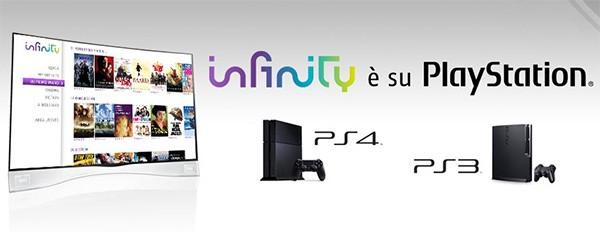 La piattaforma Mediaset Infinity è disponibile anche su PlayStation 4 e PlayStation 3