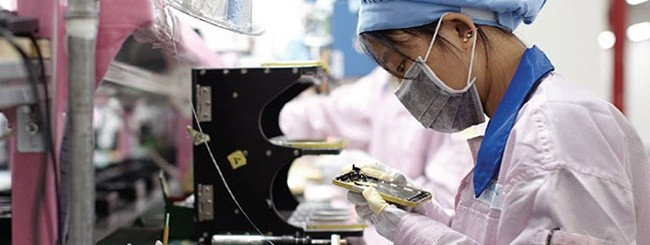 Lavoratori Apple in Cina