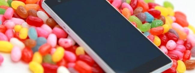 Sony e Jelly Bean