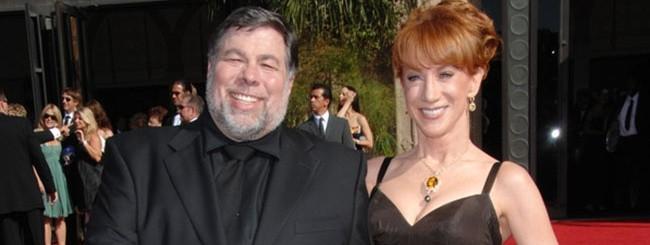 Steve Wozniak con Kathy Griffin