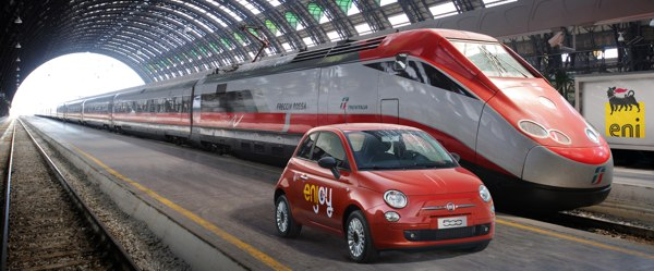 Enjoy, in collaborazione con Trenitalia