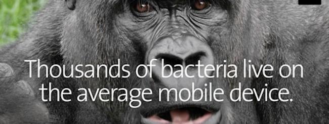 Corning Gorilla Glass antimicrobico