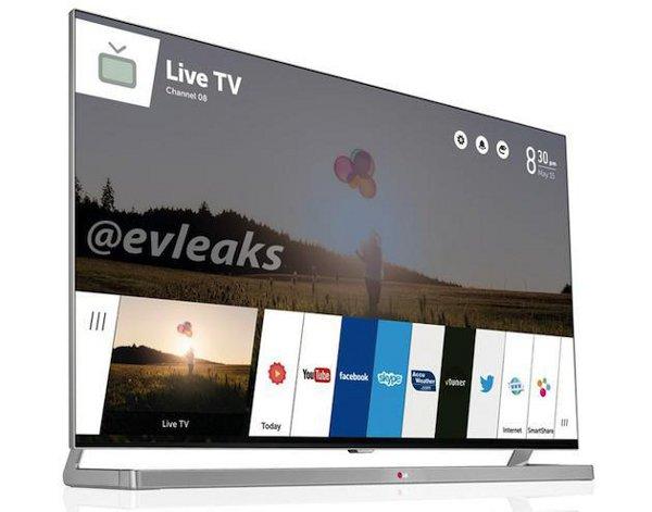 La prima immagine dalla Smart TV LG con webOS