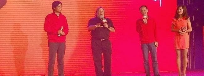 Steve Wozniak all'evento Xiaomi