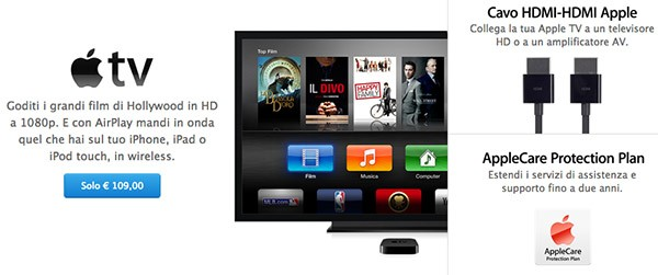Apple TV su Apple Store