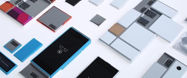 Alcune delle componenti che serviranno per confezionare il proprio smartphone personalizzato, secondo la visione del Project Ara di Motorola