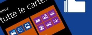 Cartelle su Windows Phone 8