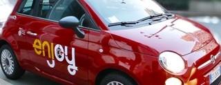 Enjoy, le auto del car sharing di Eni