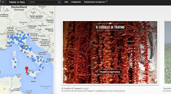 """L'eccellenza dell'artigianato italiano nella sezione """"Made in Italy"""" del Google Cultural Institute"""