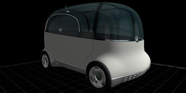 Puyo, la concept car presentata da Honda nel 2007, ora da stampare in 3D