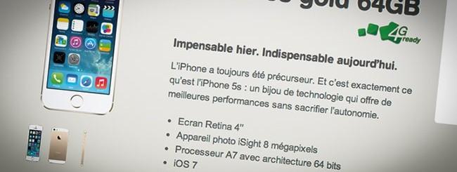 iPhone con Mobistar
