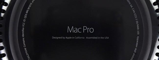 Mac Pro, parte inferiore