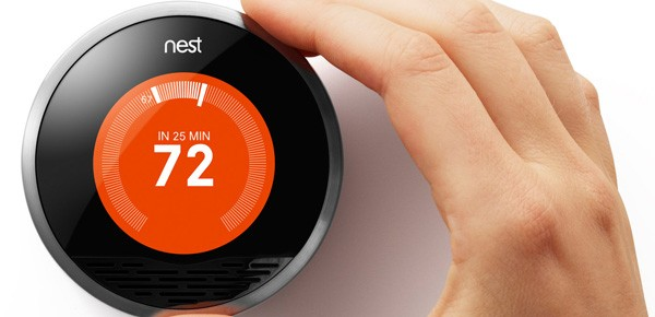 Il termostato intelligente commercializzato da Nest