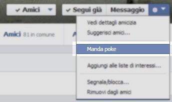 Come inviare un Poke su Facebook