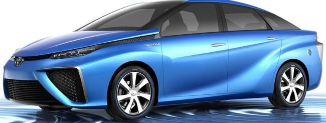Toyota, automobile a idrogeno