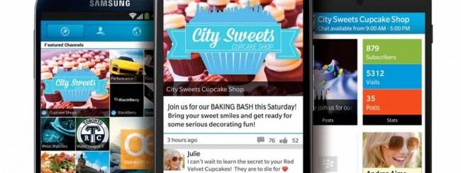 BBM 2.0 per Android e iOS