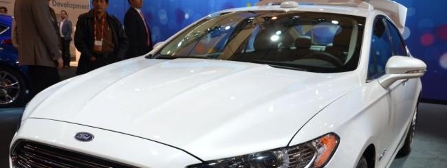 Ford Focus Hybrid automated car